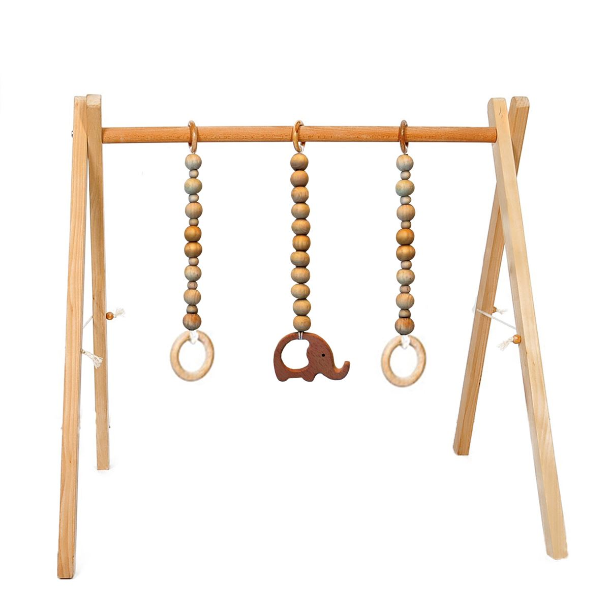 Mukabo Play 3 Sarkıtlı Oyun Barı Baby Gym