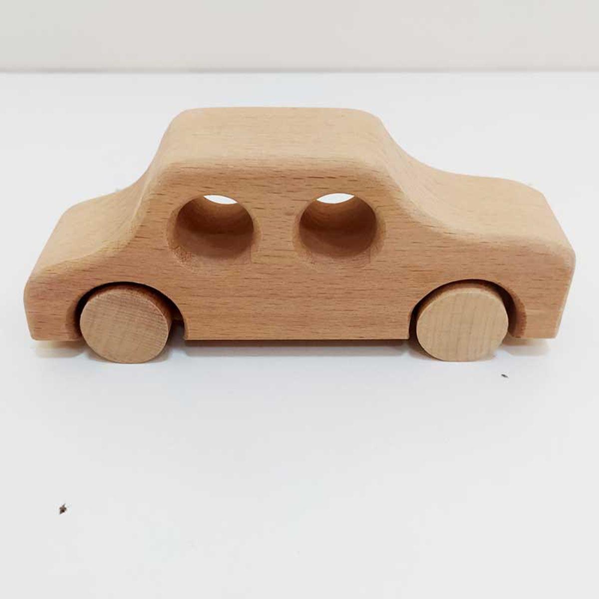 Ahşap Araba Oyun Seti 6 Parça