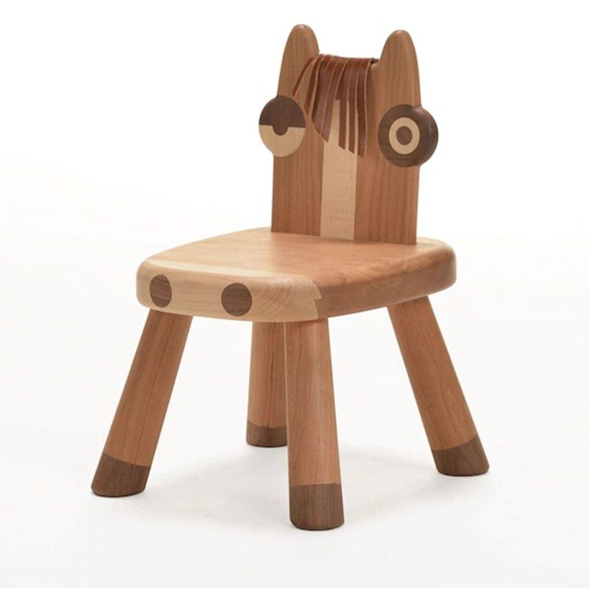 Mukabo Horse Ahşap Çocuk Sandalye