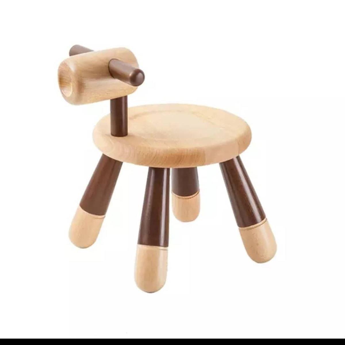 Mukabo Mini Dog Ahşap Çocuk Sandalye