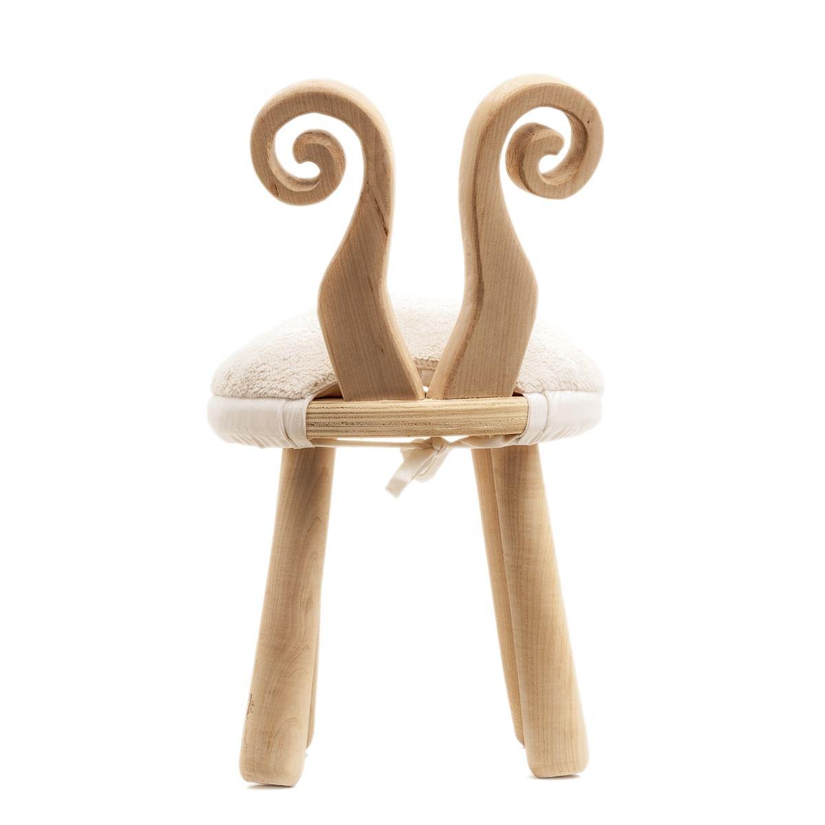 Mukabo Sheep Ahşap Çocuk Sandalye Masa Takımı