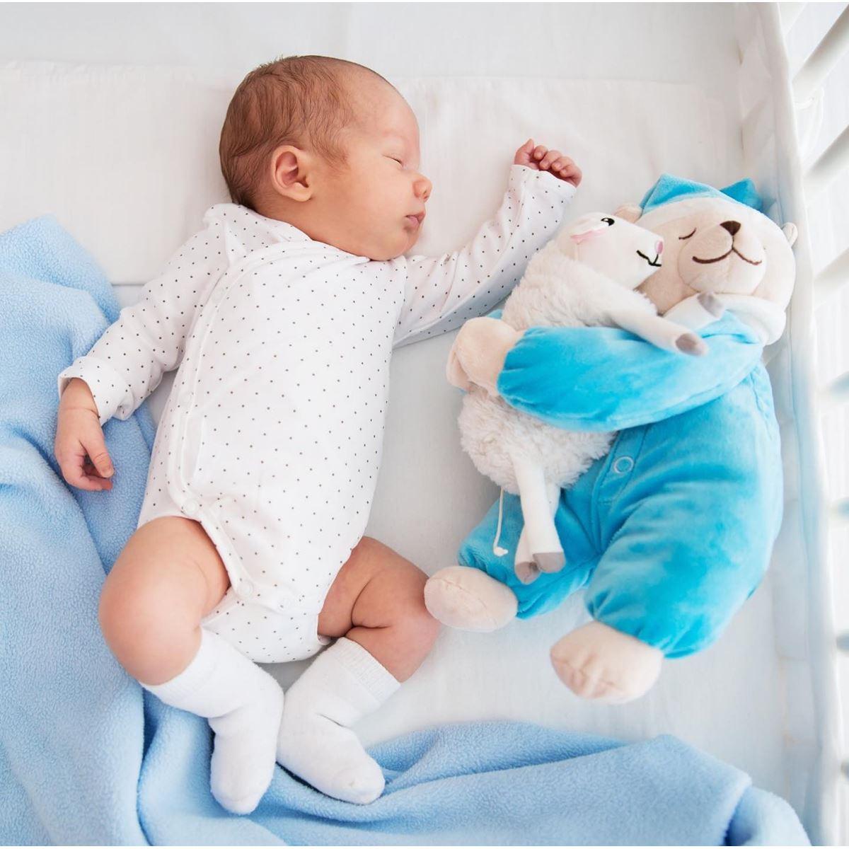 Siyah Beyaz Çizim Gerçek Boyut Bebek Doğum Posteri